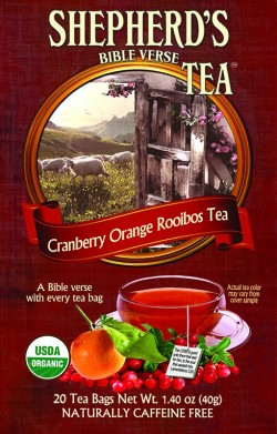 Cranberry Orange Rooibos Bible VerseTea