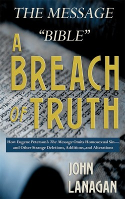 "BOOKLET - The Message ""Bible"" - A Breach of Truth"