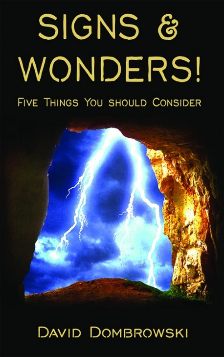 BOOKLET - Signs & Wonders! Five Things You Should Consider - SECONDS