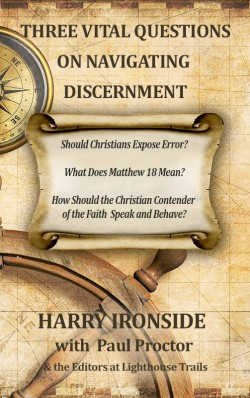 BOOKLET - Three Vital Questions on Navigating Discernment - SECONDS