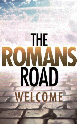 The Romans Road Welcome - Gospel Tract (10 Pack)
