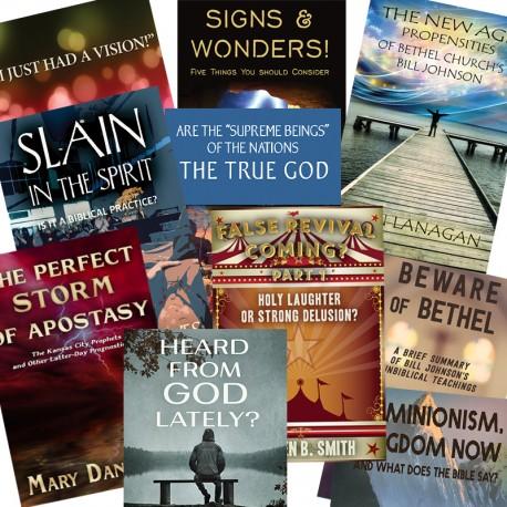 FALSE SIGNS & WONDERS BOOKLET PACK - 9 booklets