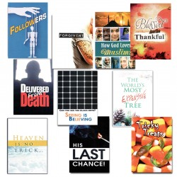 Gospel Tracts Sampler Pack 2 (10 Tracts)