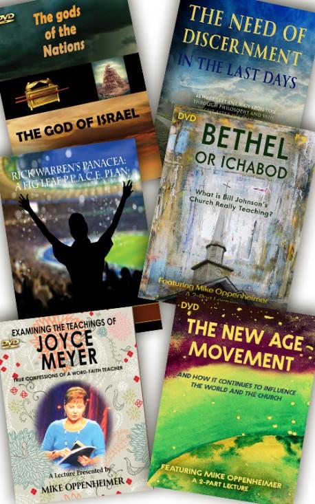Mike Oppenheimer Discernment DVD Value Pack - 6 DVDs